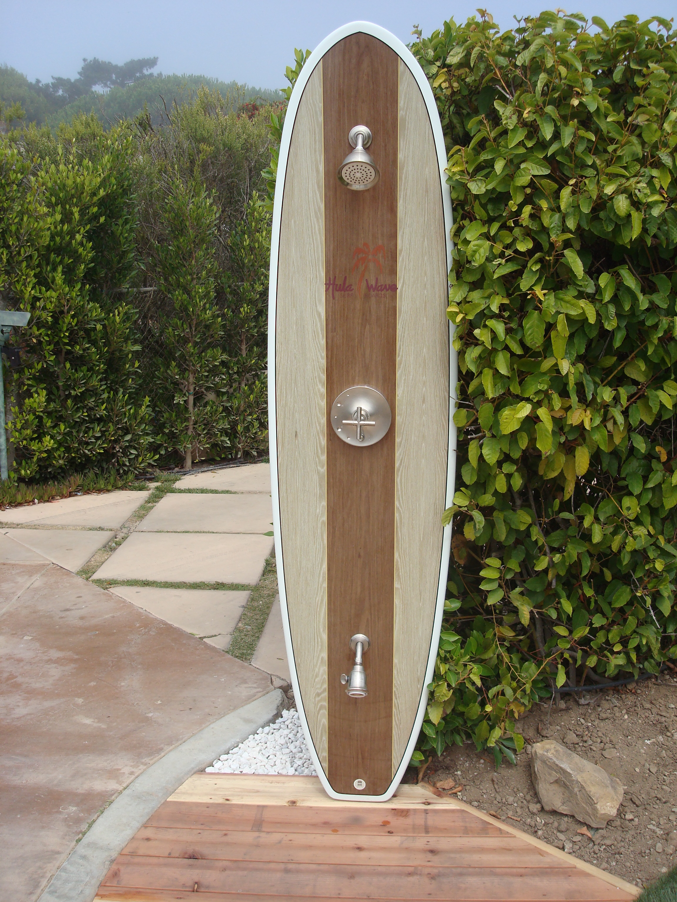 Surfboard Shower, Malibu, CA